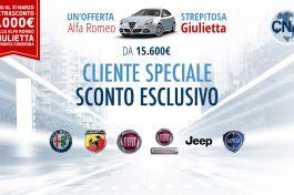 PROMO GIULIETTA ALFA ROMEO PER I SOCI DI CNA