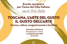SI CONCLUDE A SIENA L'ANNO DEL CIBO ITALIANO