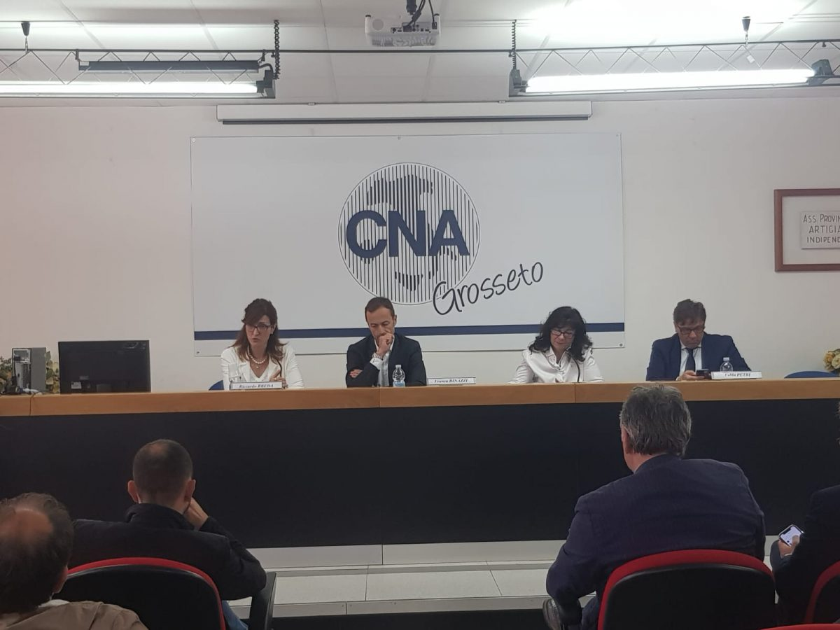 Politiche di sviluppo: CNA Toscana sud a confronto con la Regione