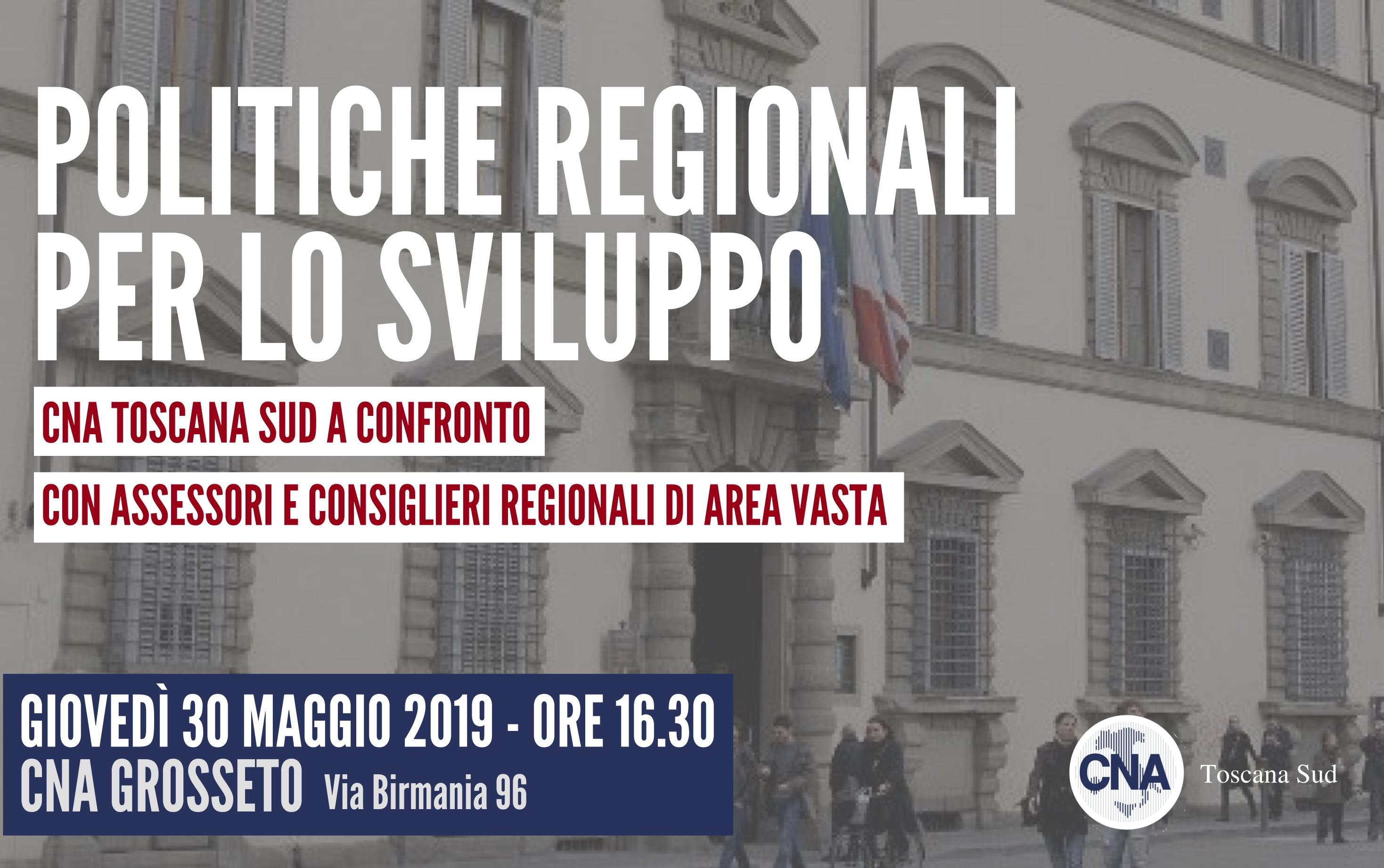 Politiche regionali per lo sviluppo: CNA Toscana sud incontra a Grosseto i rappresentati della Regione
