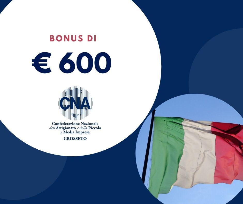 Bonus da 600 euro, ci si può rivolgere a CNA per fare domanda